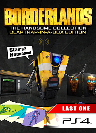 Borderlands : The Handsome Collection - Clap in a Box Collector Edition