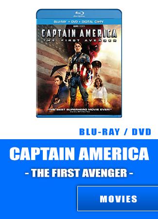 Captain America Blu-ray   DVD   Digital movie