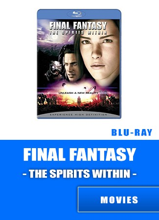 Final Fantasy - The Spirits Within Blu-ray