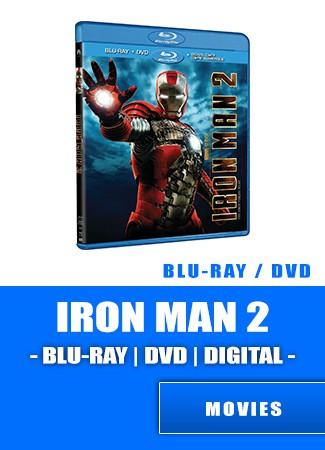 Iron Man Two- Bluray | DVD | DIGITAL