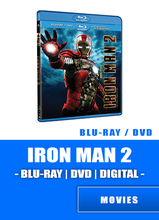 Iron Man Two- Bluray   DVD   DIGITAL