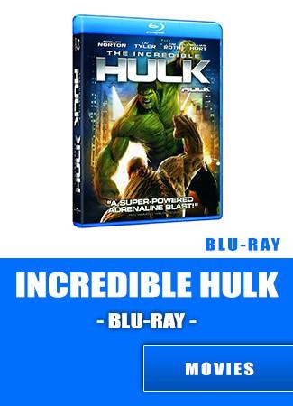 The Incredible Hulk Bluray Movie
