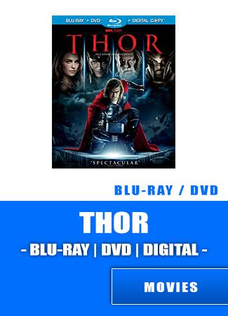Thor Bluray   DVD   Digital Movie