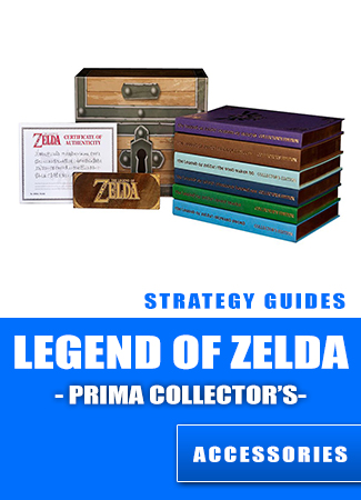 The Legend of Zelda : Official Prima Guide Box Set